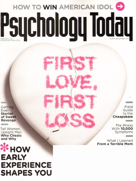 Psychology Today Cover - 2/1/2010