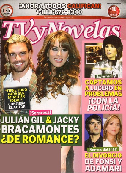 Tv Y Novelas Cover - 2/1/2010