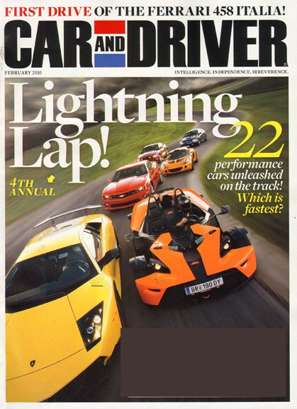 Car And Driver Cover - 2/1/2010