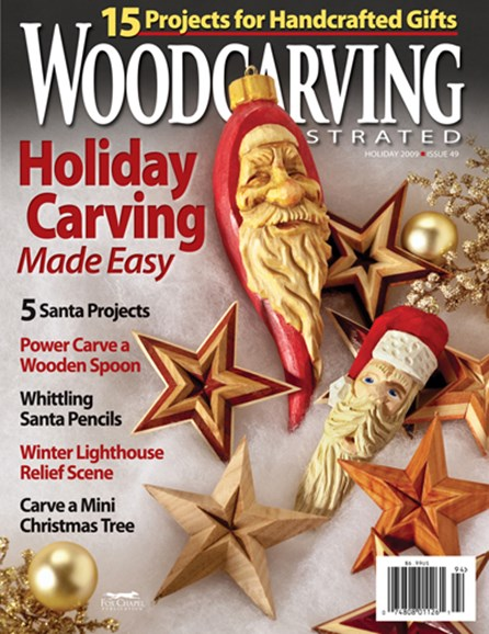 Wood Carving Illustrated Cover - 12/1/2009