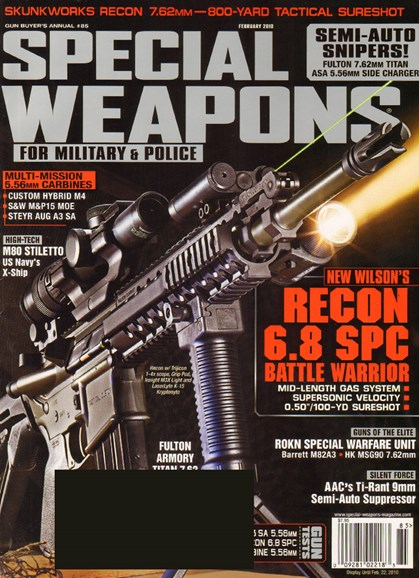 Special Weapons for Military & Police Cover - 2/1/2010