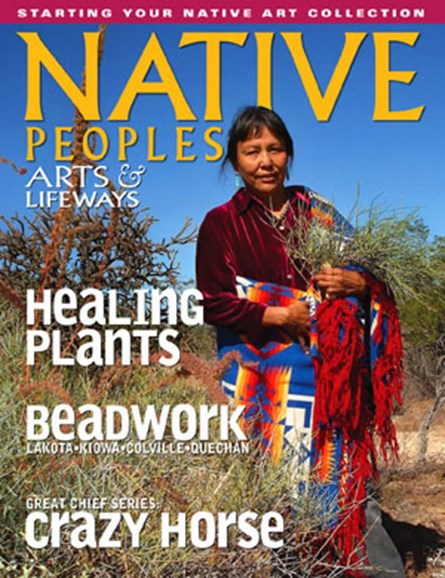 Native Peoples Cover - 12/1/2009