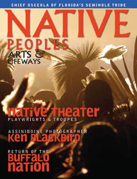 Native Peoples Cover - 11/1/2009