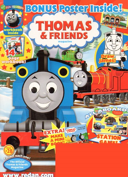 Thomas & Friends Cover - 2/1/2010