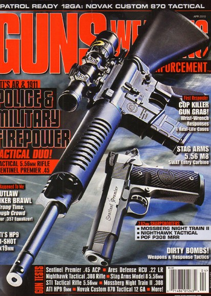 Guns & Weapons For Law Enforcement Cover - 4/1/2010