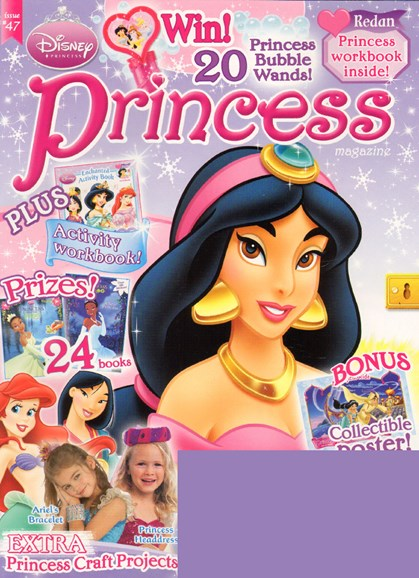 Disney Princess Cover - 1/1/2010