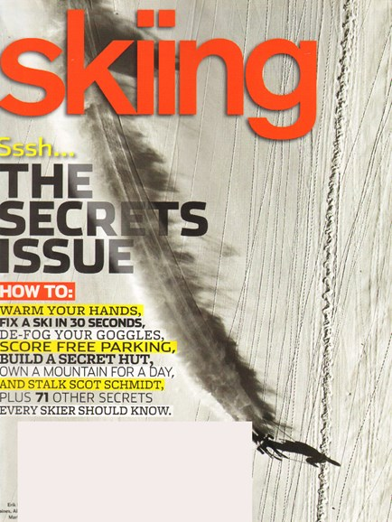 Skiing Cover - 11/1/2009