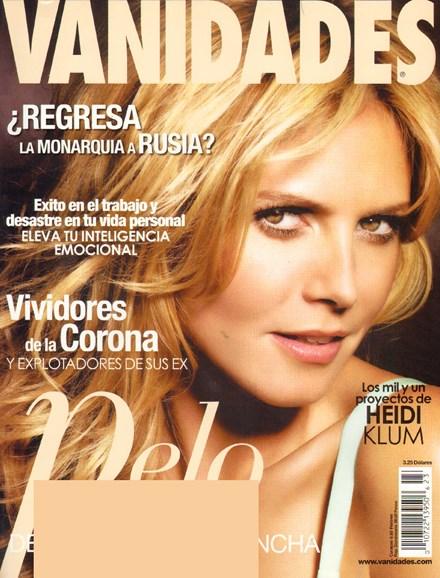 Vanidades Cover - 11/3/2009