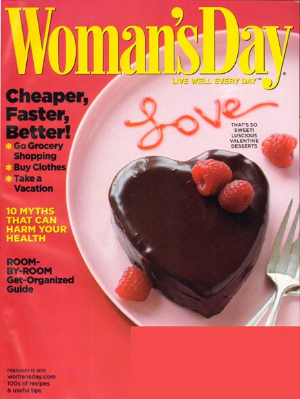 Woman's Day Cover - 2/17/2010