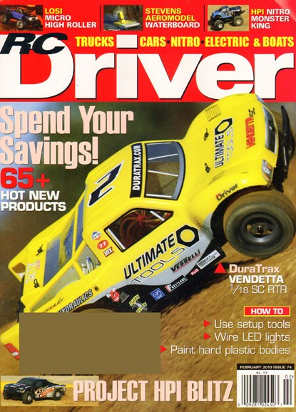 RC Driver Cover - 2/1/2010
