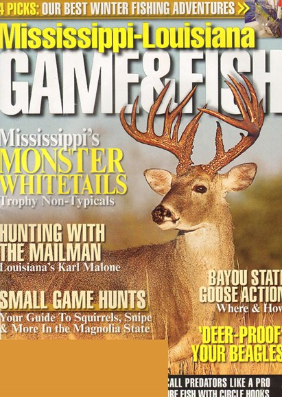 Mississippi Game & Fish Cover - 12/1/2009