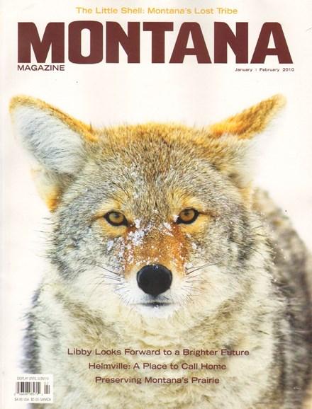 Montana Magazine Cover - 1/1/2010