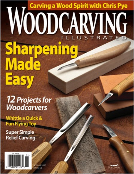 Wood Carving Illustrated Cover - 4/1/2010