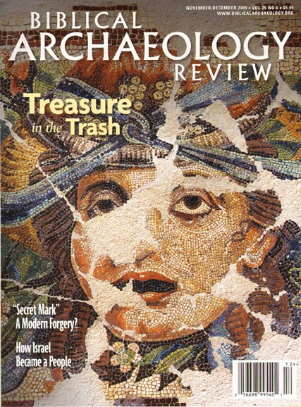 Biblical Archaeology Review Cover - 11/1/2009