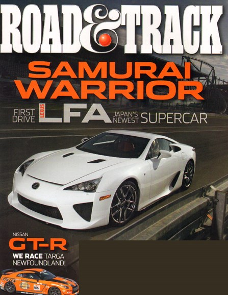 Road & Track Cover - 12/1/2009