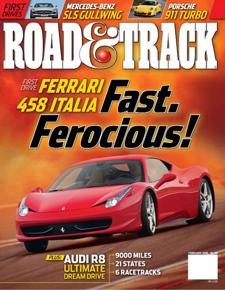Road & Track Cover - 2/1/2010