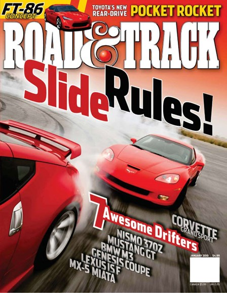 Road & Track Cover - 1/1/2010