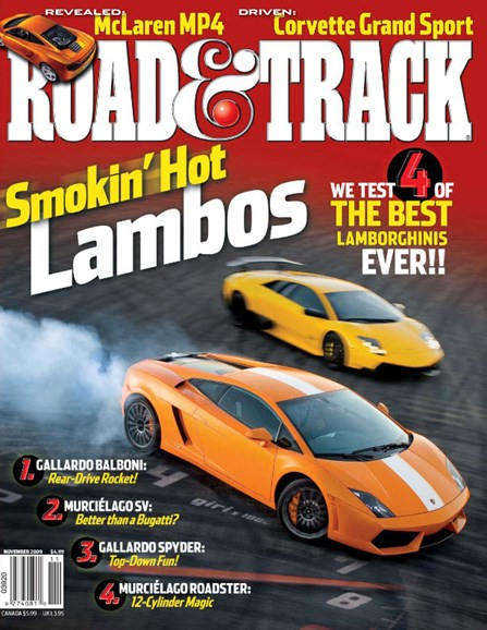 Road & Track Cover - 11/1/2009