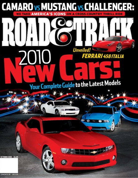 Road & Track Cover - 10/1/2009