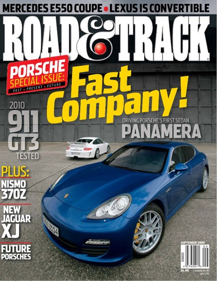 Road & Track Cover - 9/1/2009
