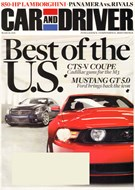 Car And Driver Magazine 3/1/2010