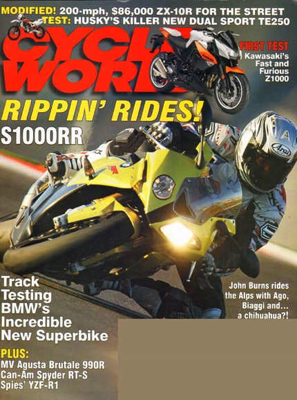 Cycle World Cover - 3/1/2010