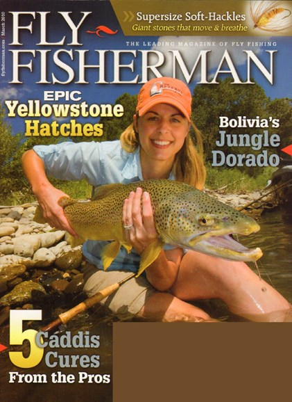Fly Fisherman Cover - 3/1/2010