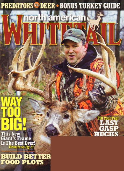 North American Whitetail Cover - 4/1/2010