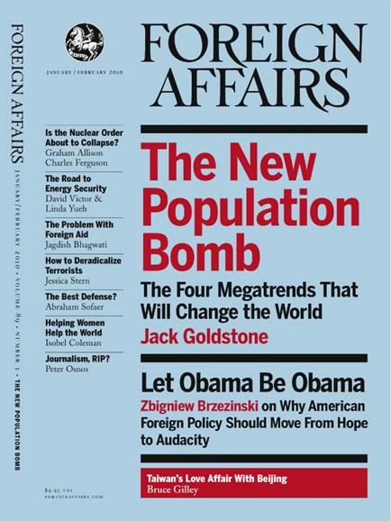 Foreign Affairs Cover - 1/1/2010