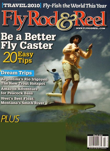 Fly Rod & Reel Magazine Cover - 3/1/2010