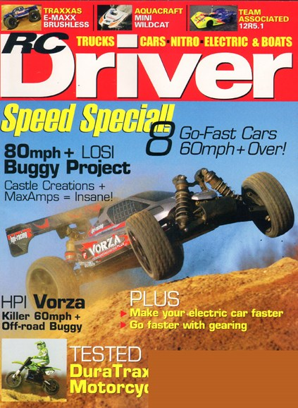 RC Driver Cover - 3/1/2010