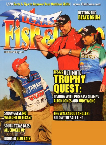 Texas Fish & Game Cover - 2/1/2010