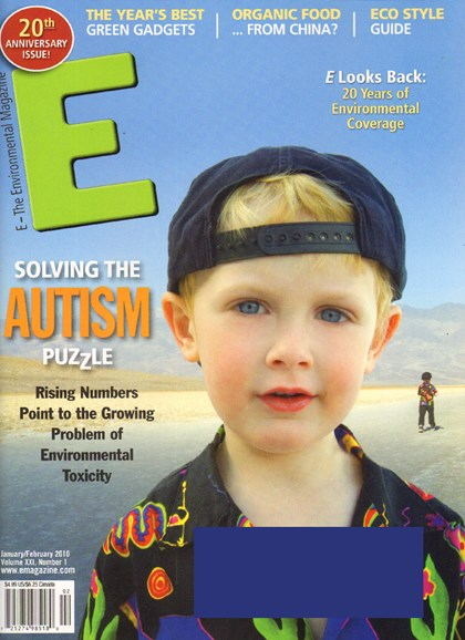 E: The Environment Magazine Cover - 1/1/2010