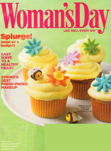 Woman's Day Cover - 3/1/2010