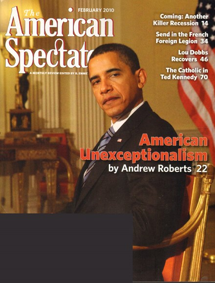 The American Spectator Cover - 2/1/2010