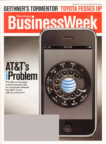 Bloomberg Businessweek Cover - 2/15/2010