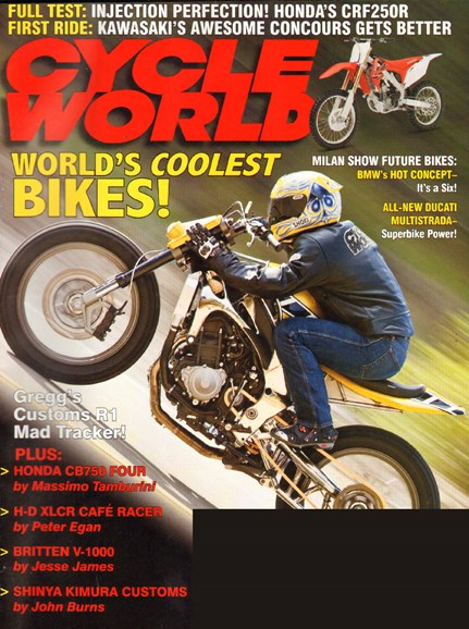 Cycle World Cover - 2/1/2010