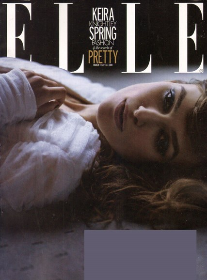 ELLE Cover - 3/1/2010