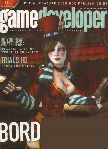 Game Developer Cover - 2/1/2010