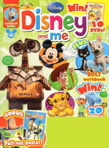 Disney Junior Cover - 2/1/2010
