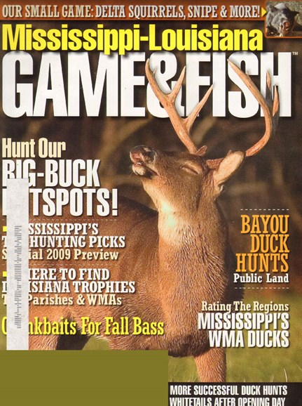Mississippi Game & Fish Cover - 11/1/2009