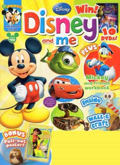 Disney Junior Cover - 3/1/2010