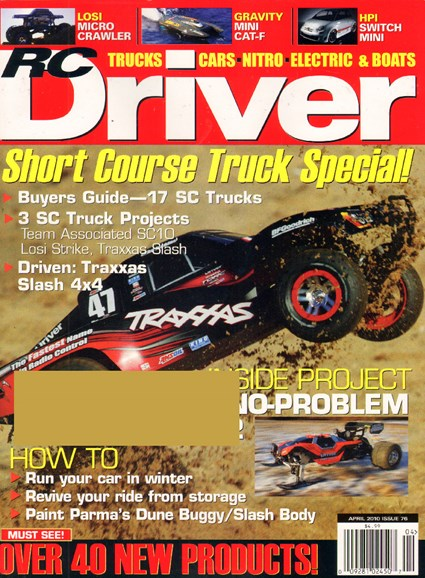 RC Driver Cover - 4/1/2010