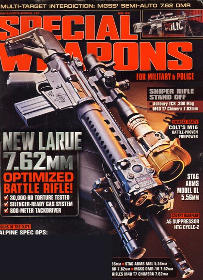 Special Weapons for Military & Police Cover - 4/1/2010