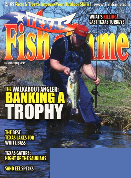 Texas Fish & Game Cover - 3/1/2010