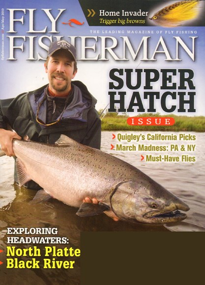Fly Fisherman Cover - 4/1/2010