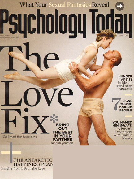 Psychology Today Cover - 4/1/2010
