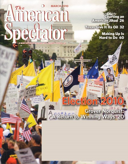 The American Spectator Cover - 3/1/2010