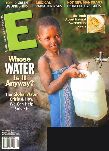 E: The Environment Magazine Cover - 3/1/2010