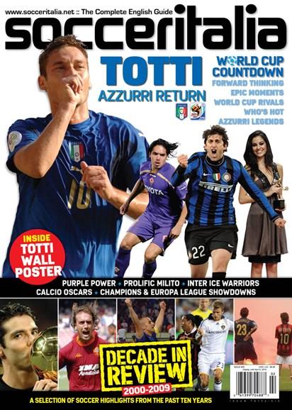Soccer Italia Cover - 3/1/2010